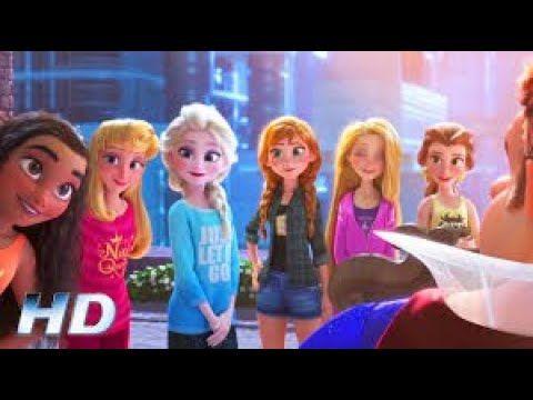 Princesas Disney Salvan Ralph El Demoledor Wifi Ralph Pelicula Completa Disney Princess Pictures Disney Princess Frozen Disney Movie