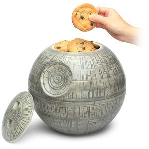 Death Star cookie jar.  Want.