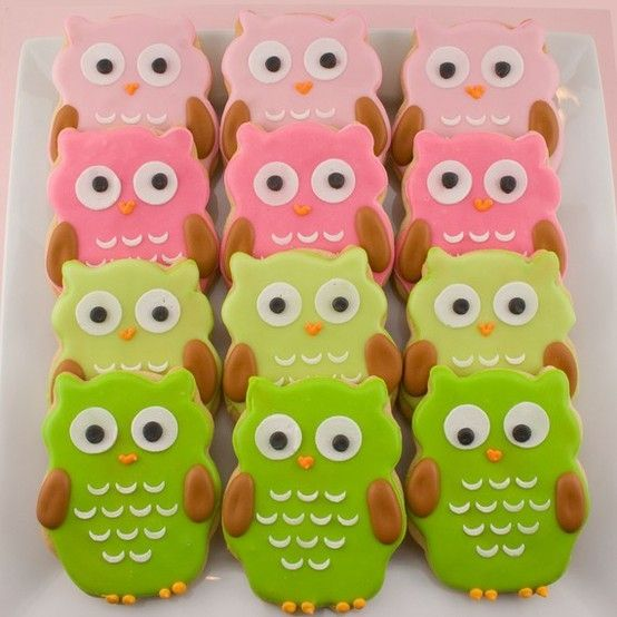 Love these owl cookies. And, they are pre-packaged!!