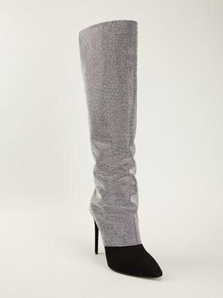 Giuseppe Zanotti Design Metallic Boots - Julian Fashion - Farfetch.com