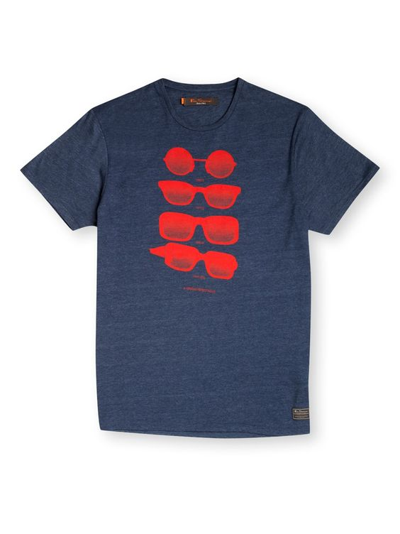 Short Sleeve Crew Sunglasses T-Shirt | Ben Sherman