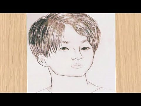 Bts Drawing Tutorial How To Draw Jungkook Bts رسم جونغكوك عضو في فرقة بي تي اس رسم سهل Bts Cizimi Youtube Bts Drawings Drawing Tutorial Easy Drawing Meme