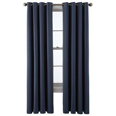 jcp home™ Castor Blackout Grommet-Top Curtain Panel - JCPenney