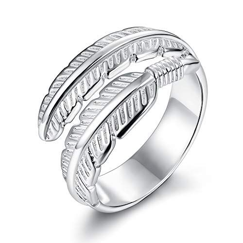 mariage vintage engagement rose alliance feuille de fleurs des bijoux réglable
