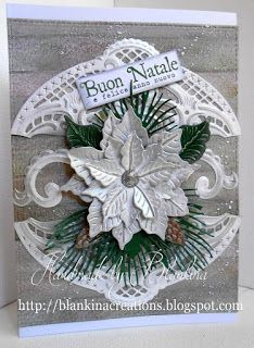 Blankina creations: Biglietto di Natale classico Marianne Design