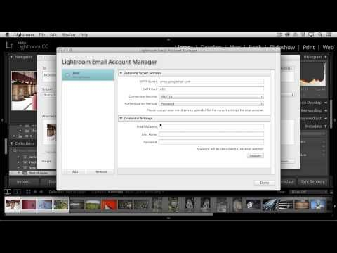 Quick Tip – Emailing Photos from Lightroom « Julieanne Kost's Blog