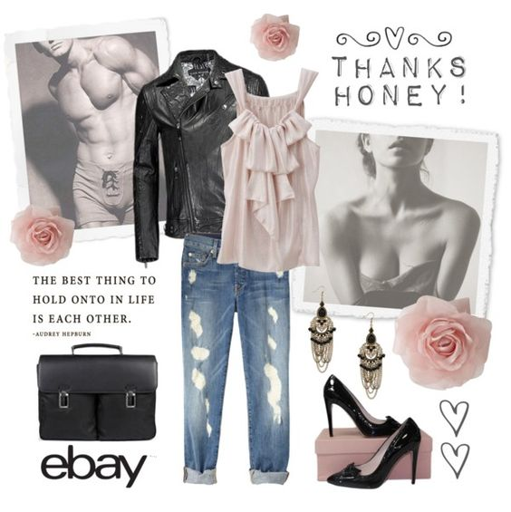 """""""Rock Menswear Like a Lady with eBay"""" by iggy-rouvinen ❤ liked on Polyvore"""