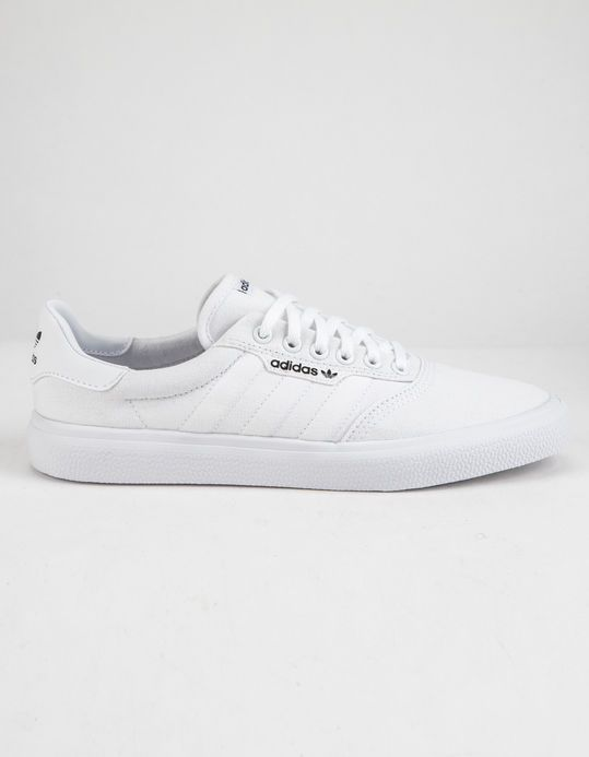 ADIDAS 3MC White Shoes | White shoes, All white shoes, Shoes