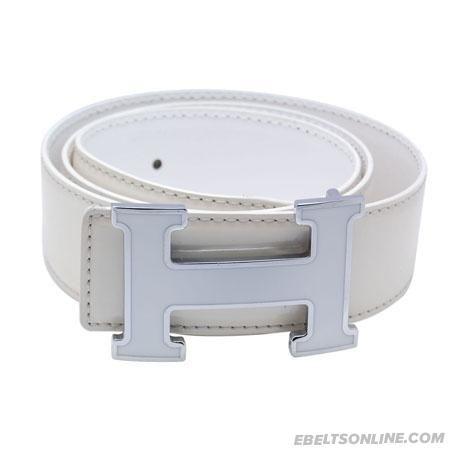 replica hermes purses - Designer Hermes H Letter White Buckle Mens Belt | Ladies First ...