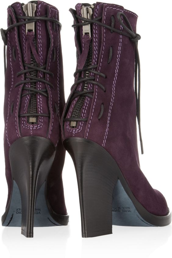 Haider Ackermann|Lace-up suede ankle boots