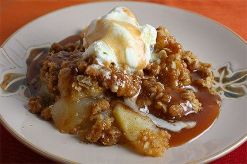 Delicious Apple Crisp from Classy Clutter