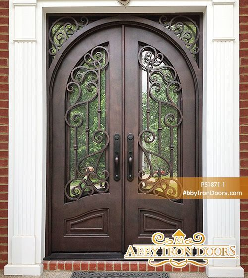 Abby Iron Doors Iron Doors Garage Door Design Wrought Iron