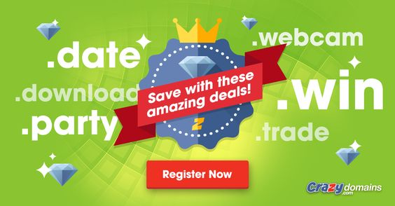Up to 90% off premium domains! How's that for markdown?