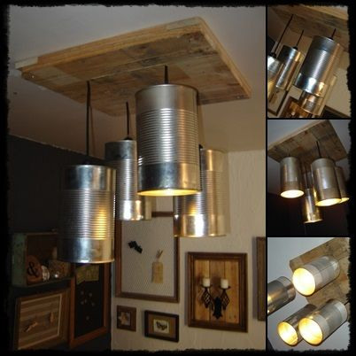 lustre boites de conserve r cup 39 bosch luminaires pinterest diy basteln et bricolage. Black Bedroom Furniture Sets. Home Design Ideas