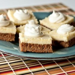 Carrot Cake Cheesecake Bars:  A quick and easy dessert to satisfy both your Carrot Cake lovers and Cheesecake fans!