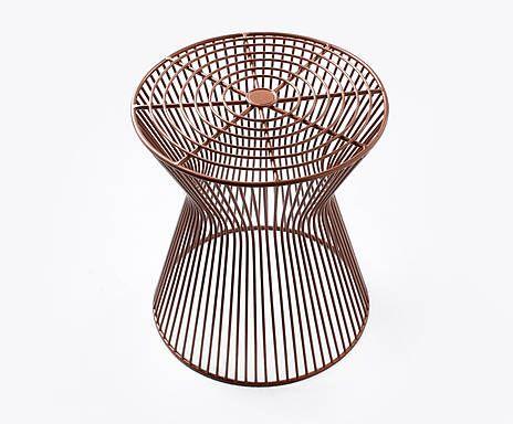 bijzettafel charisma koper diameter 36 cm van jill jim designs meubels pinterest van. Black Bedroom Furniture Sets. Home Design Ideas