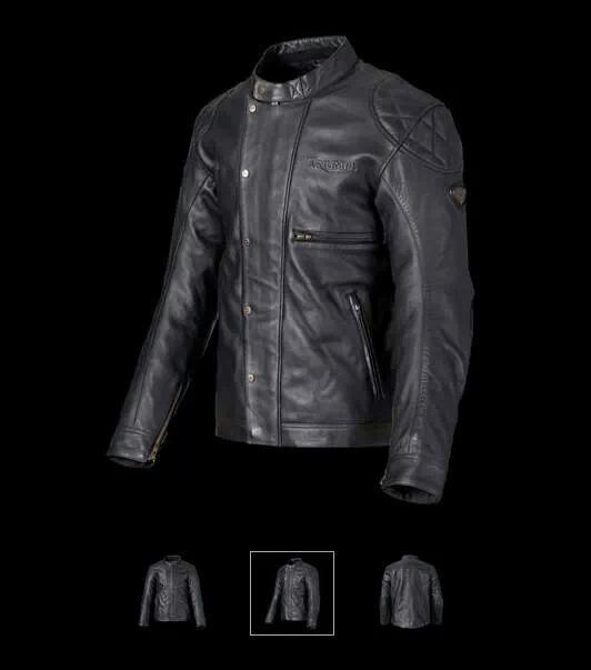 triumph steve mcqueen leather desert jacket | riding jacket