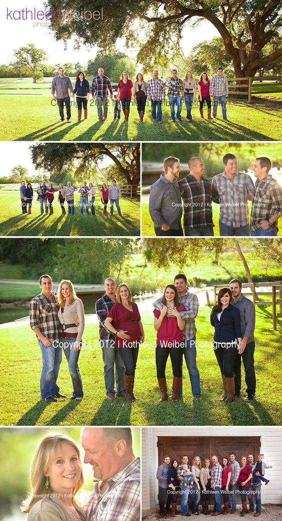 One Big Loving Family | League City Extended Family Photographer - Kathleen Weibel