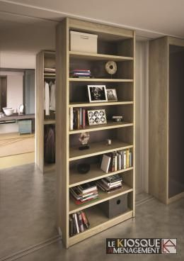 bibliotheque coulissante domelia bibkio pinterest. Black Bedroom Furniture Sets. Home Design Ideas