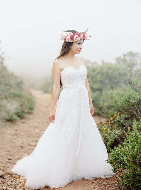 A-line gown: http://www.stylemepretty.com/2015/08/30/style-me-prettys-wedding-dress-silhouettes-101/