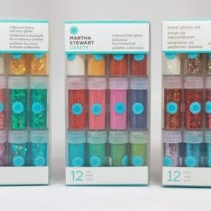 Martha Stewart Crafts Glitter Kit 1