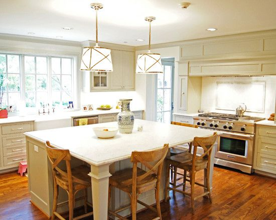 kitchen island table with 4 chairs side chair option kitchen island extended design pictures remodel decor and ideas page 4 9731