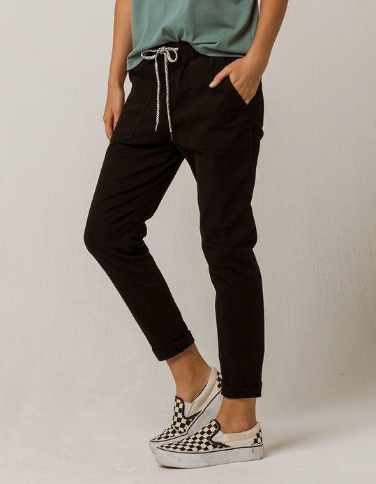 Roxy Dude Womens Jogger Pants Black 324923100 Women Jogger Pants Joggers Womens Pants