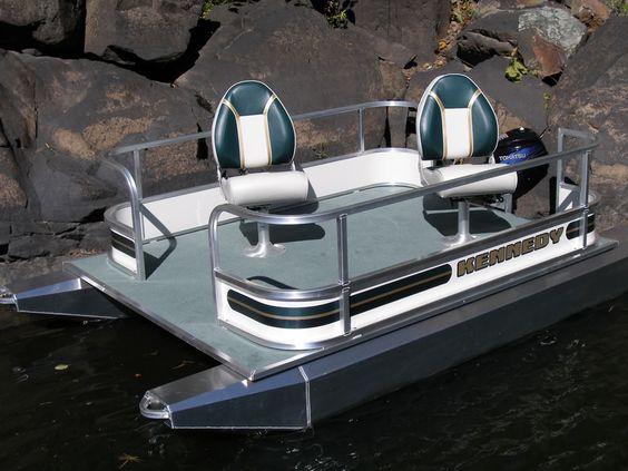 Pontoon small pontoons outboard mini toons mini for Mini pontoon fishing boats