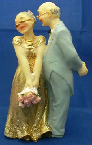 old couple wedding cake toppers details about 50th or 60th golden anniversary 17982