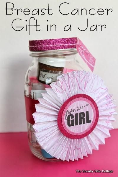 breast cancer gifts special gifts jars and cancer on 12314