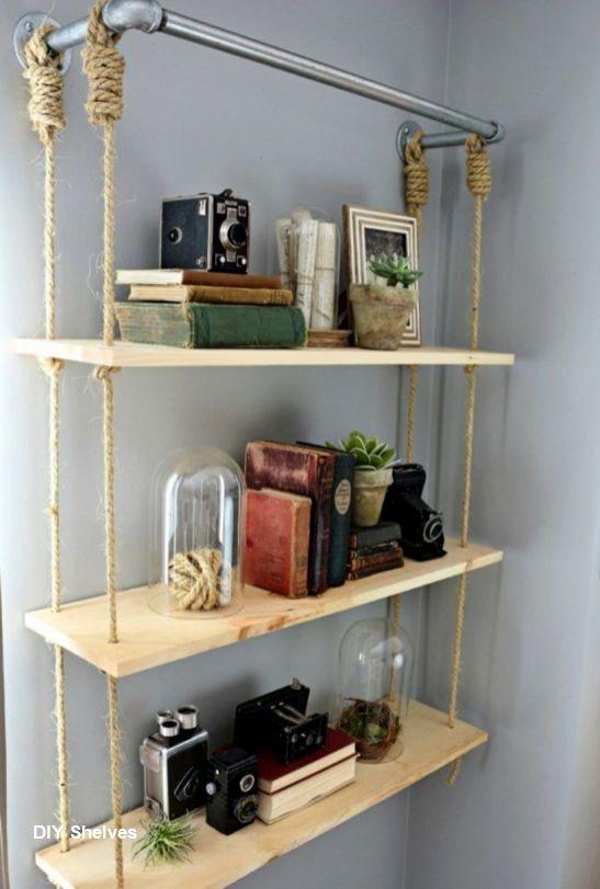 Diy Shelves Storage Ideas In 2020 Diy Shelves Bedroom Diy Diy Home Decor