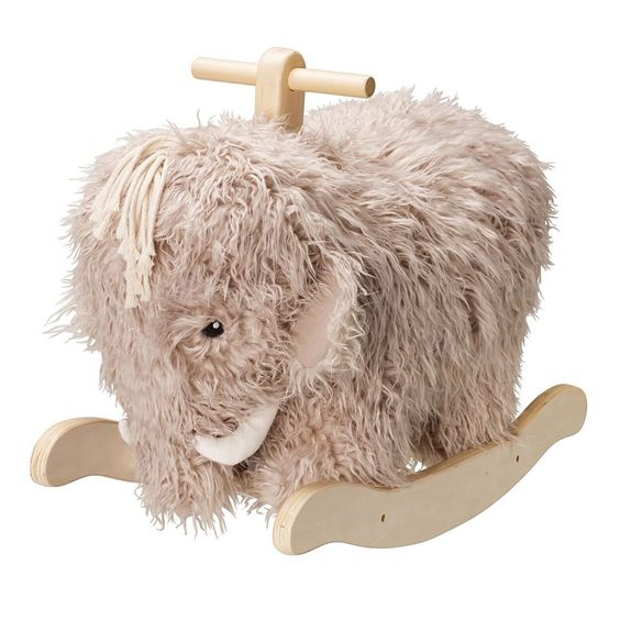 Allow us to introduce Neo, the fluffy mammoth who might just be the most adorable kids ride on toy ever!