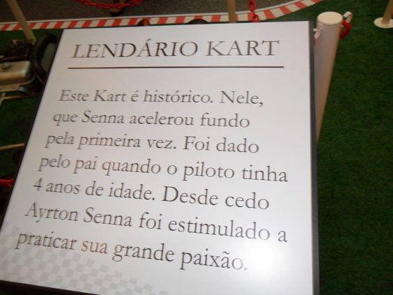 Exposição Senna - Shopping Villa Lobos