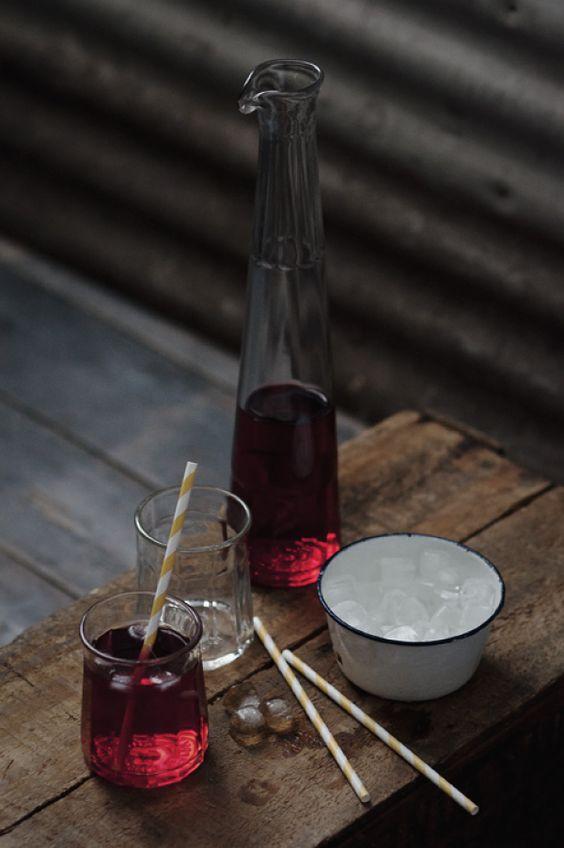 Upcycled Sambuca bottle // Ruth Allen
