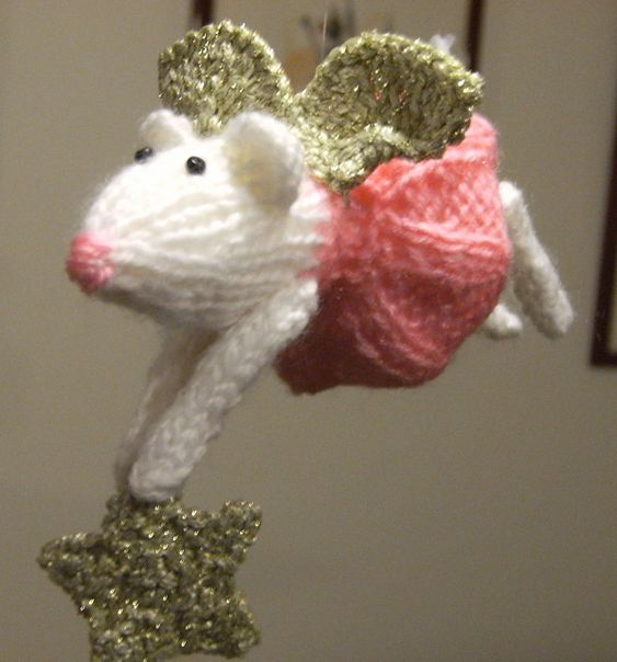 Oh gosh how cute are these furry fairies pattern by alan dart