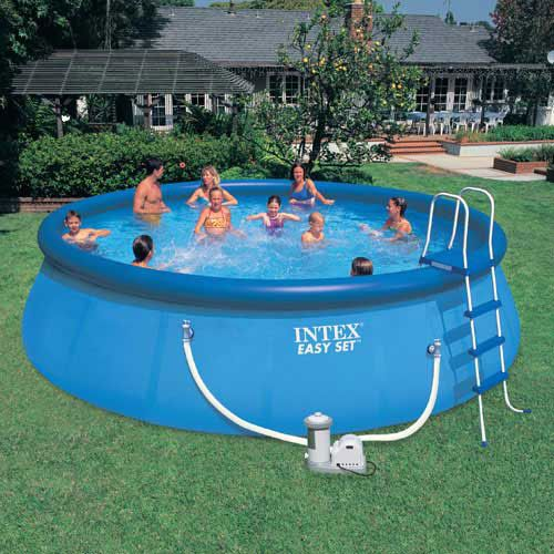 Intex Easy Set Pools Easy Set Pools Blow Up Pool Inflatable Pool