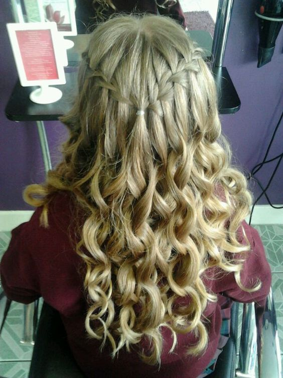 Confirmation Upstyles By Us Pinterest Curls The O