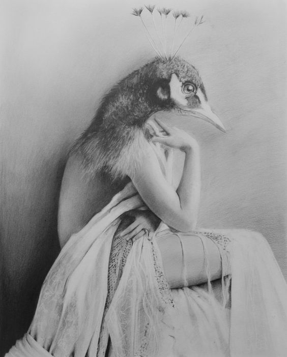 "Saatchi Art Artist: Lee Boyd; Graphite 2013 Drawing ""Burn out Beyond"""
