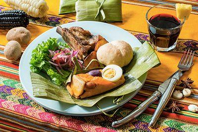 ペルーの朝ごはん 1,500円+税東京・外苑前にあるカフェレストラン「ワールド・ブレックファスト・オールデイ(WORLD BREAKFAST ALLDAY)」は、2ヶ月おきに世界の国々の伝統的な朝ごは...