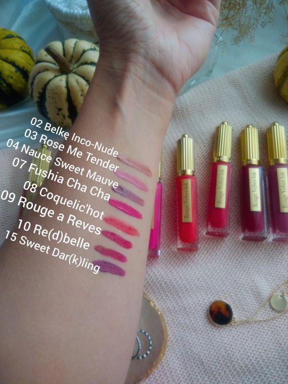 Rouge Velvet Ink