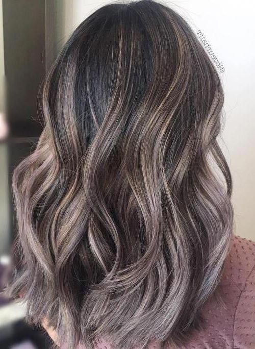 20 Mushroom Brown Hair Color Haircolor Haircuts Hairstyles Messy Wavyhair Haircolorgrey Spring Hair Color Mushroom Hair Brunette Hair Color