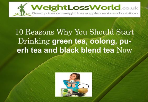 Discover the benefits of drinking green-tea, oolong and others varieties of this drink.