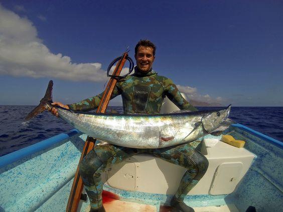 Spearfishing wahoo in baja california spearfishing baja for Baja california fishing
