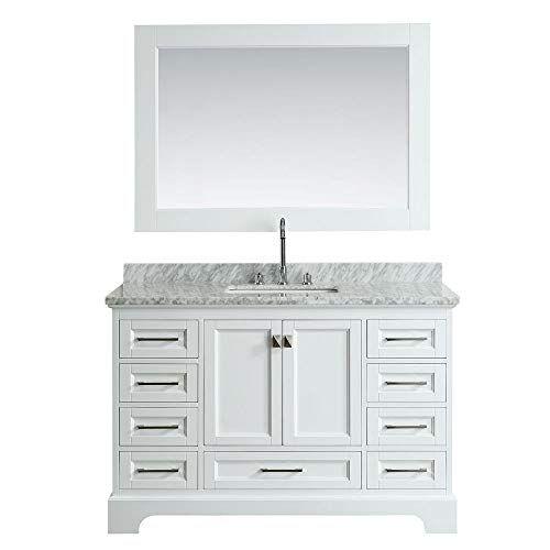 Design Element Dec068d W 54 Inch Bathroom Vanity In White Https