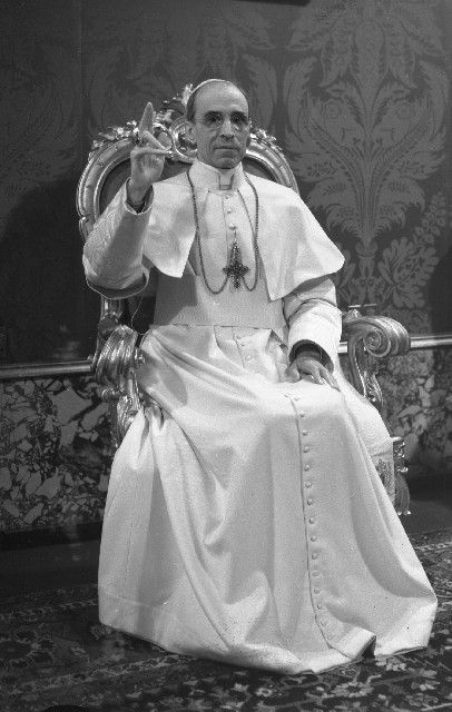 Pope Pius XII, an amazing man, a fantastic courageous Pope who is often unjustly misjudged. God bless him and keep him.