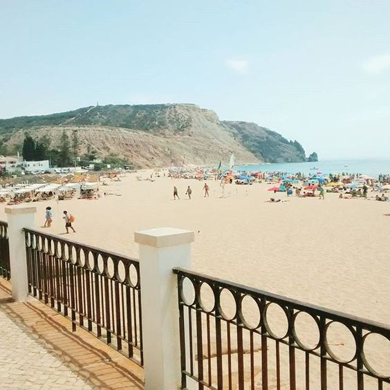 ahhh another hot #praiadaluz summer day :D