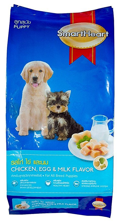 Smartheart Chicken Egg Milk Puppy 1 5kg Is For 1month To 12