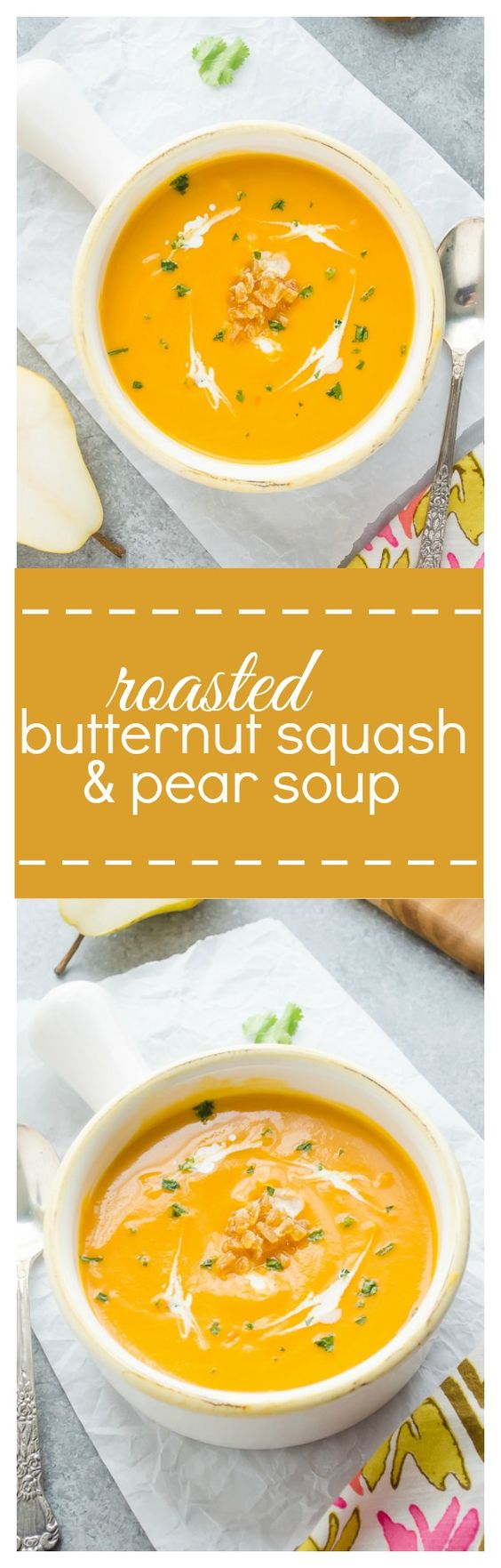 ... Butternut Squash and Pear Soup | Recipe | Smooth, Sauces and Soups
