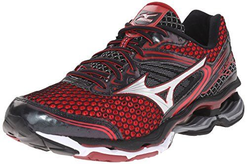 Mizuno Men's Wave Creation 17 Running Shoe: Cushioned enough for high miles  yet light enough to feel fast, this is again the ideal shoe for runners  seeking ...