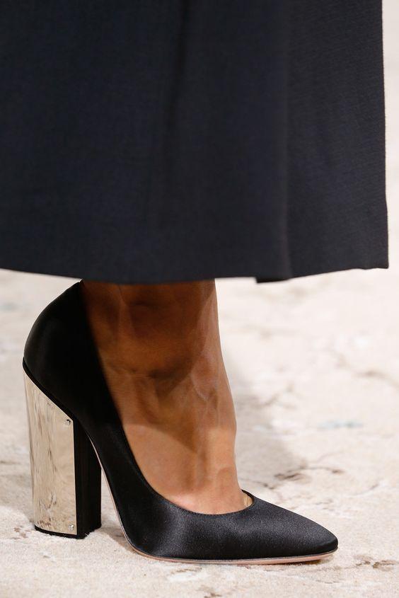 shoes @ Giambattista Valli Spring 2015
